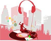 Nowożytna muzyka zdjęcia stock