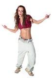 nowożytna tancerz kobieta Fotografia Stock