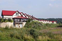 Nowożytna wioska Fotografia Stock