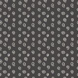 Nowożytne bezszwowe wzór spirale Obrazy Royalty Free