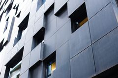 Nowożytne ulicy Oslo budynków scandinavian popularna architektura Fotografia Royalty Free