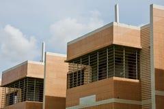 Nowożytnego architektonicznego budynku unikalna fotografia fotografia royalty free