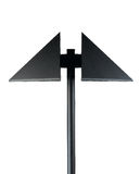 Nowożytnego projekta lamppost Obraz Royalty Free