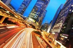 Nowożytni budynki biurowi w Hong Kong Zdjęcia Royalty Free