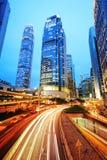 Nowożytni budynki biurowi w Hong Kong Obrazy Royalty Free