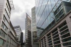 Nowożytni budynki biurowi w Londyn Fotografia Stock