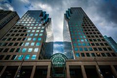 Nowożytni budynki przy Harbourfront w Toronto, Ontario Obrazy Royalty Free