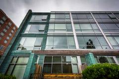 Nowożytni budynki przy Massachusetts Institute Of Technology, i Obraz Stock