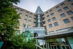 Nowożytni budynki przy Massachusetts Institute Of Technology, i Obraz Royalty Free