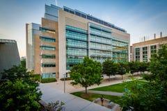Nowożytni budynki przy Massachusetts Institute Of Technology, i Obrazy Stock