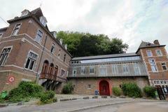 Nowożytni budynki w Flone, Belgia Obrazy Royalty Free