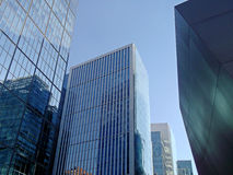 Nowożytni budynki w Santiago, Chile zdjęcie royalty free