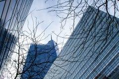Nowożytni budynki w Tribeca Zdjęcia Stock