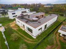 Nowożytni dom na wsi w budowie Zdjęcia Stock