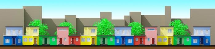 Nowożytni domy Zdjęcie Royalty Free