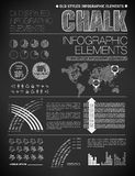 Nowożytni elementy ewidencyjne grafika Obrazy Royalty Free