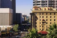 Nowożytni i Historyczni budynki W centrum Phoenix Arizona Obrazy Royalty Free