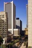 Nowożytni i Historyczni budynki W centrum Phoenix Arizona Zdjęcie Stock