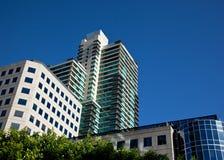 nowożytni kompleksów apartamentów biura Zdjęcia Royalty Free