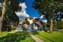 Nowożytni round budynki Amsterdam Zdjęcie Stock