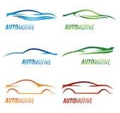 nowożytni samochodowi logowie Zdjęcie Royalty Free