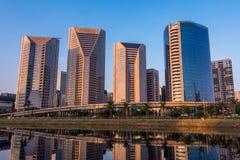 Nowożytni Sao Paulo budynki Zdjęcia Stock