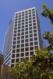 Nowożytni W centrum miasto budynki biurowi Obraz Stock
