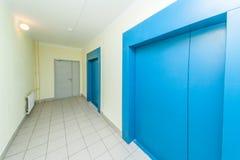 nowożytni wind drzwi Obrazy Stock