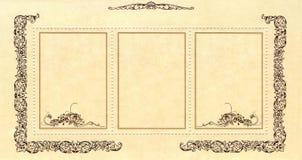nowożytny abstrakcjonistyczny sztandar Zdjęcie Stock