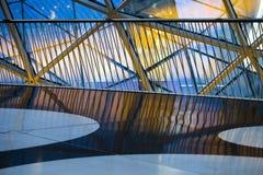 Nowożytny Basztowy Szklany budynek Obraz Royalty Free