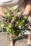Nowożytny bridal bukiet Obraz Royalty Free
