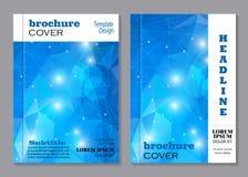 Nowożytny broszurki pokrywy projekt Obraz Royalty Free