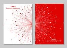 Nowożytny broszurki pokrywy projekt Zdjęcia Royalty Free