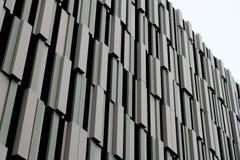 Nowożytny Brown metalu budynek Obraz Stock