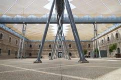 Nowożytny budynek Techniczny uniwersytet Cartagena, Hiszpania Zdjęcie Royalty Free