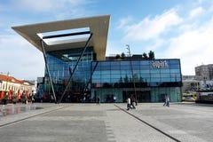 Nowożytny budynek w Kosice fotografia royalty free