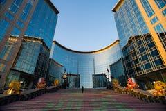 Nowożytny budynek w Pekin Zdjęcie Stock
