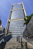 Nowożytny budynku drapacz chmur z schody prowadzi up w Melbourne Fotografia Stock