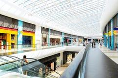 Nowożytny centrum handlowe Obraz Royalty Free
