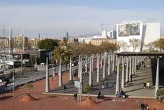 Nowożytny detaliczny centrum handlowe. Barcelona. Hiszpania Zdjęcie Stock