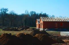 Nowożytny domowy w budowie Obrazy Stock