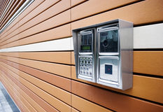 nowożytny drzwiowy awiofon Zdjęcia Stock