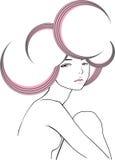 nowożytny dziewczyna styl ilustracja wektor