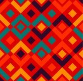 Nowożytny elegancki Geometryczny bezszwowy wzór Zdjęcia Royalty Free