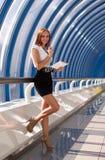 Nowożytny fachowy bizneswoman Zdjęcia Royalty Free