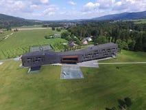 Nowożytny hotel na golfie Zdjęcie Stock