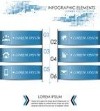Nowożytny infographic opcja sztandar ilustracja wektor