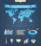 Nowożytny infographics ilustracji