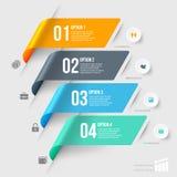 Nowożytny infographics element Obrazy Royalty Free