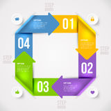 Nowożytny infographics element Fotografia Royalty Free